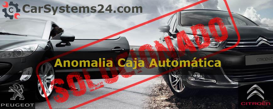 Solucion Anomalia Caja Automatica Tiptronic Peugeot